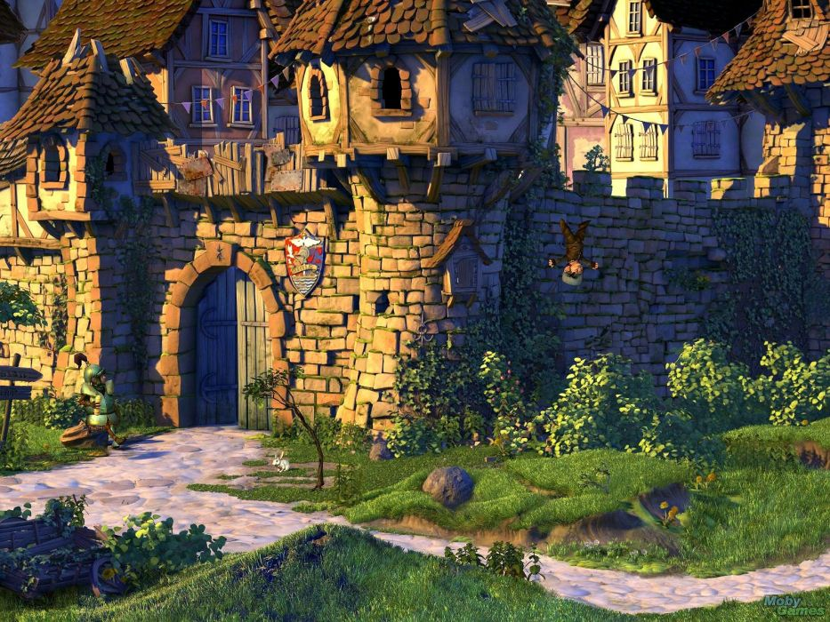 BOOK OF UNWRITTEN TALES adventure fantasy puzzle wallpaper