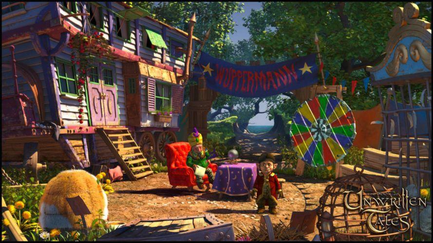 BOOK OF UNWRITTEN TALES adventure fantasy puzzle wallpaper