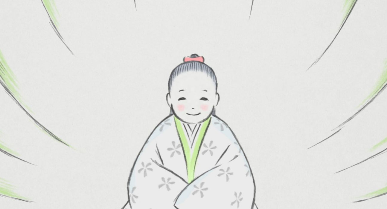 Tale Of The Princess Kaguya animation drama fantasy asian cartoon Monogatari wallpaper