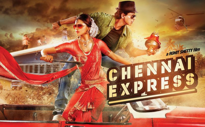 CHENNAI EXPRESS deepika padukone bollywood action comedy romance wallpaper