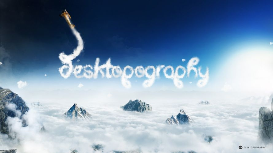sky desktopography-2560x1440 wallpaper