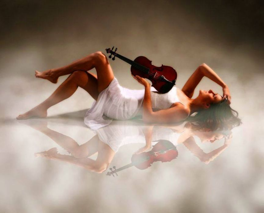 Woman Beautiful Rose Violin Wallpaper 1920x1555 477976 Wallpaperup