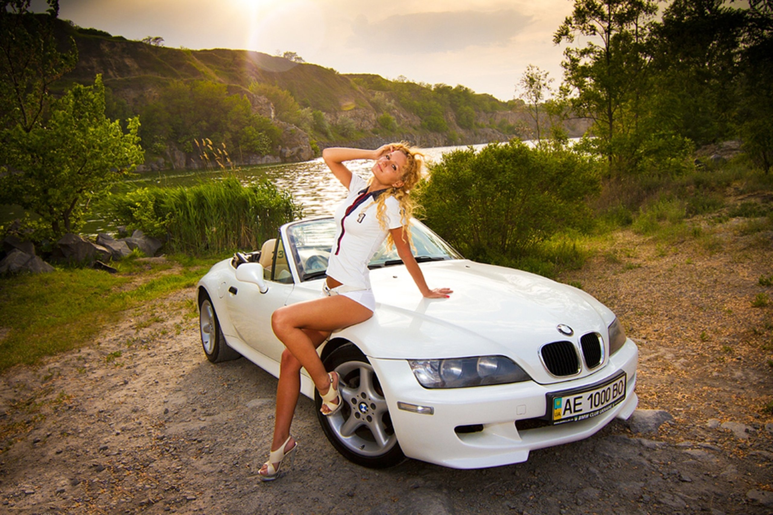 Bmw Z3 Blonde Cars Model Car Wallpaper 2560x1707