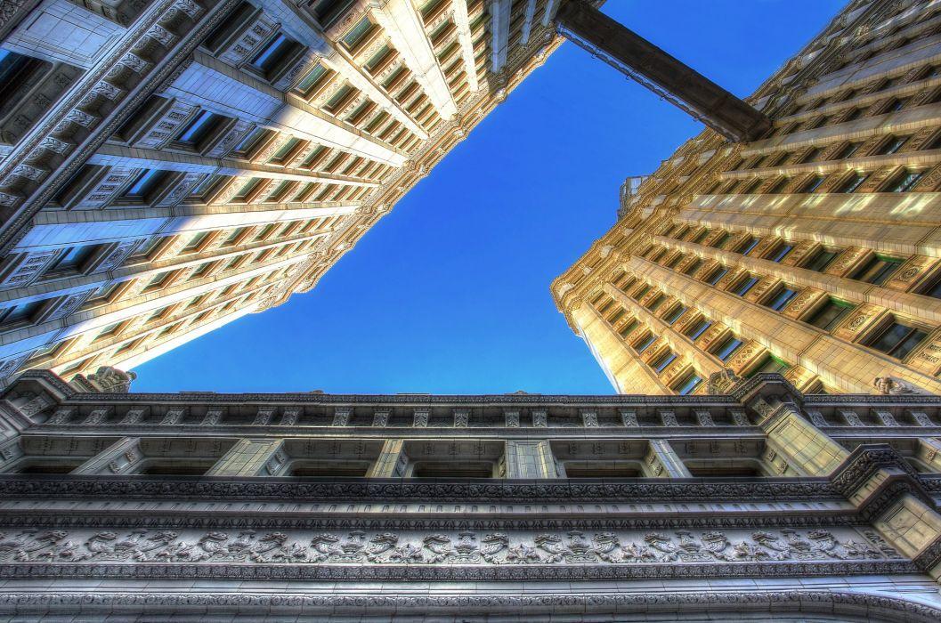 architecture bridges chicago cities City Francisco Night skyline USA Illinois Trump Tower Mid-Ouest comtA wallpaper