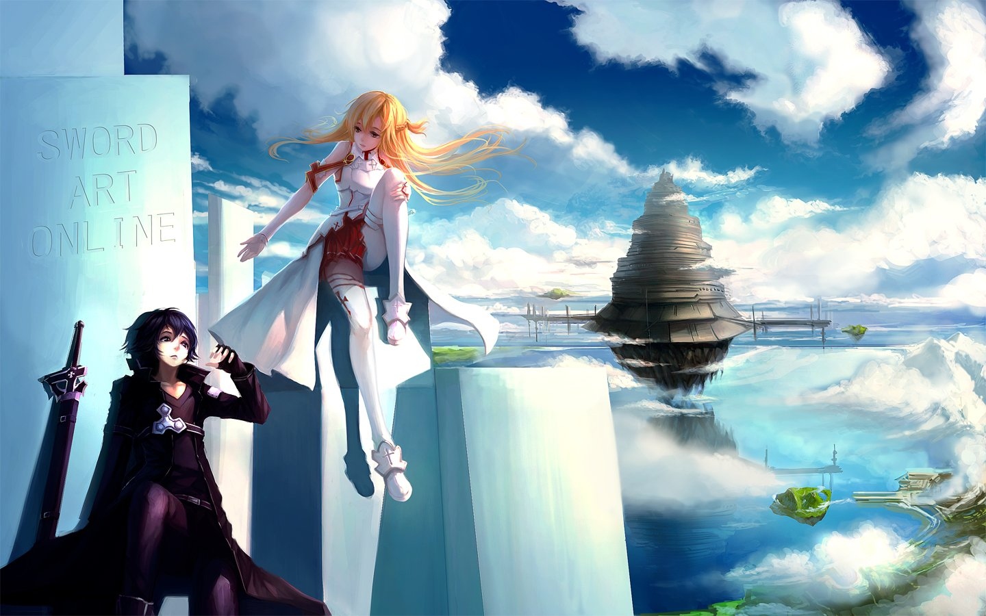 Anime Cloud Sword Art Online Sword Art Online Anime Series