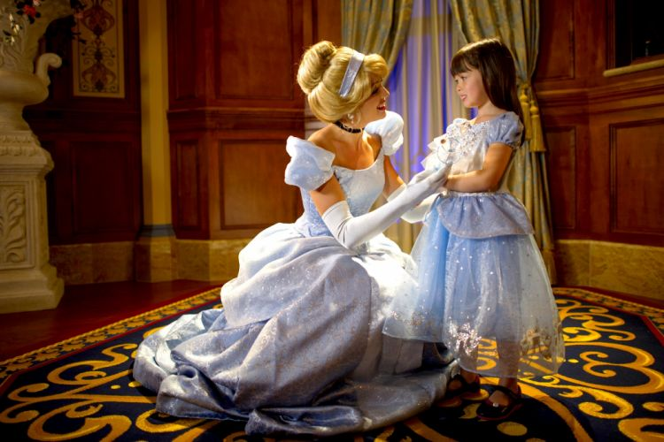 Cinderella characters fairytale girl princess wallpaper