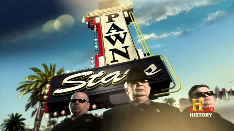 PAWN STARS reality series comedy wallpaper