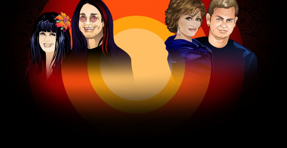 THE OSBOURNES reality series ozzy osbourne comedy heavy metal wallpaper