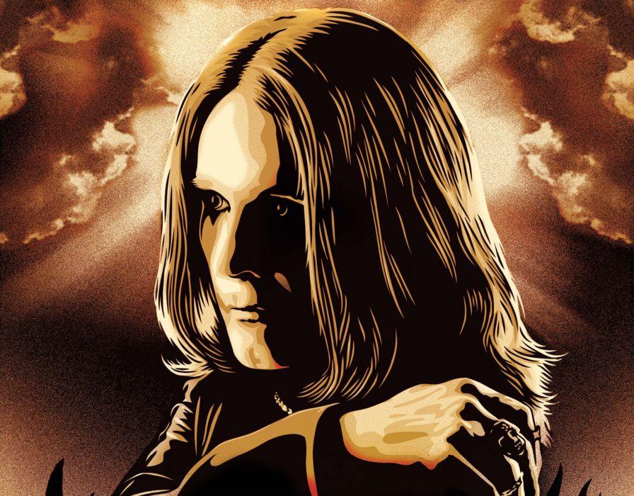 OZZY OSBOURNE heavy metal black sabbath rock wallpaper