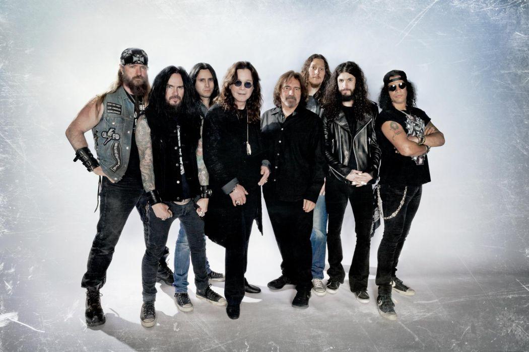 OZZY OSBOURNE heavy metal black sabbath rock slash wallpaper