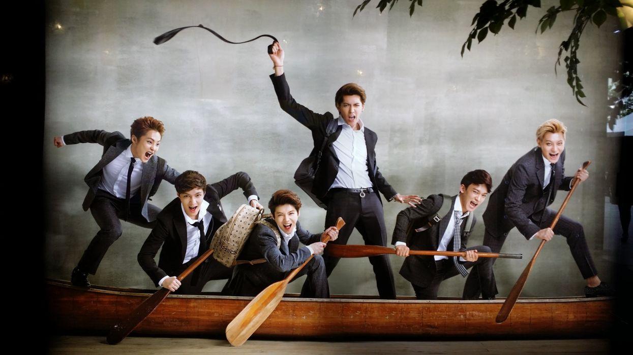 EXO-M kpop pop electro dance r-b k-pop exo wallpaper