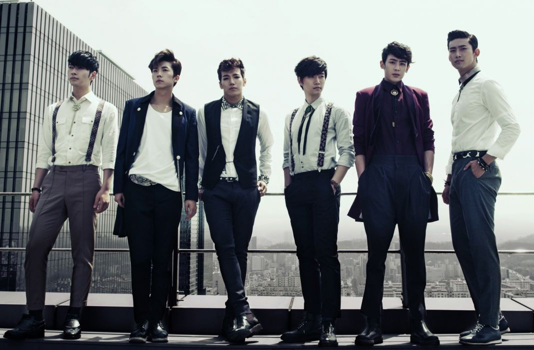 2PM kpop hip hop pop dance r-b k-pop two wallpaper