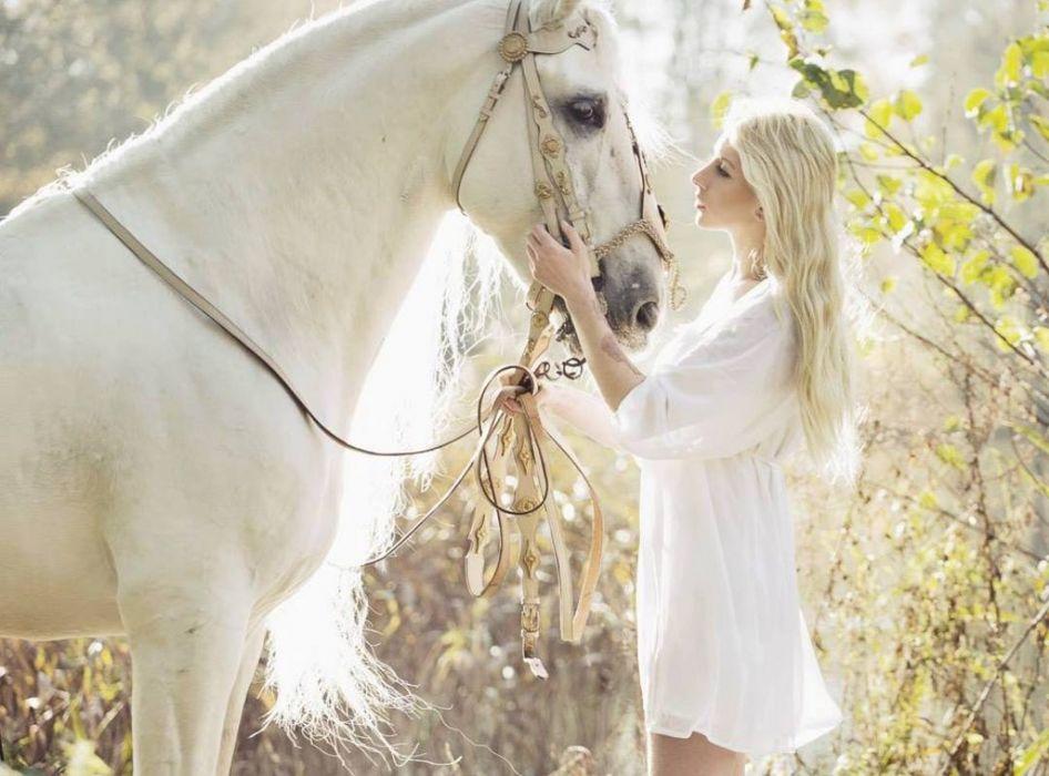 friend model horse lady wallpaper