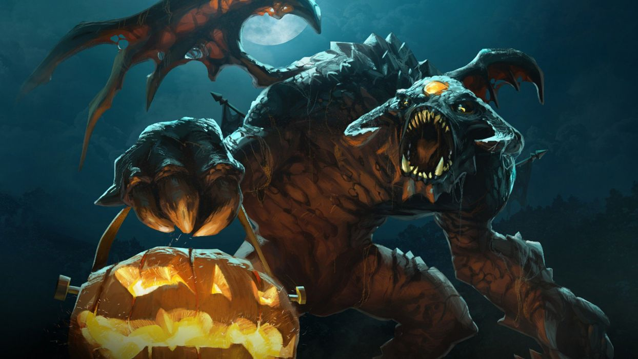 HALLOWEEN fota monster fantasy wallpaper