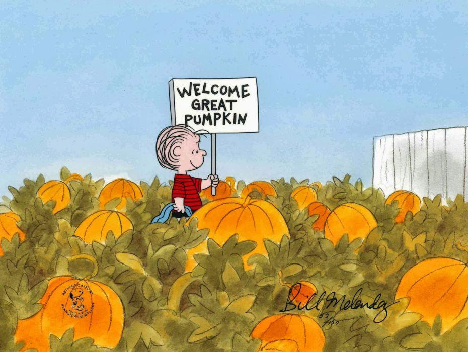 pumpkin patch halloween autumn peanuts wallpaper