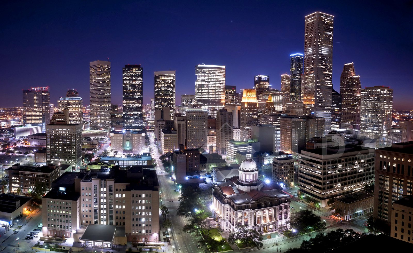houston architecture bridges cities city texas night towers buildings usa downtown offices storehouses stores wallpaper 1600x980 480312 wallpaperup buildings usa downtown offices storehouses stores wallpaper