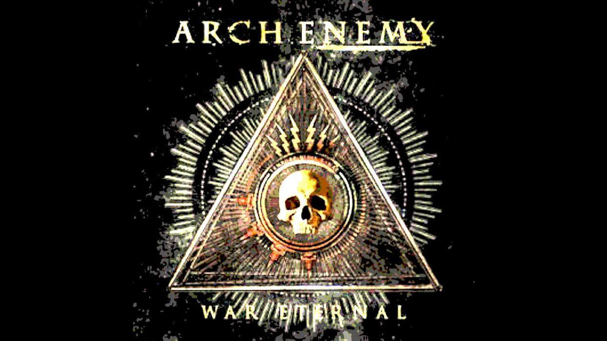 ARCH ENEMY death metal progressive heavy wallpaper