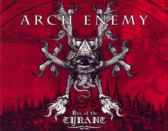 ARCH ENEMY death metal progressive heavy dark wallpaper