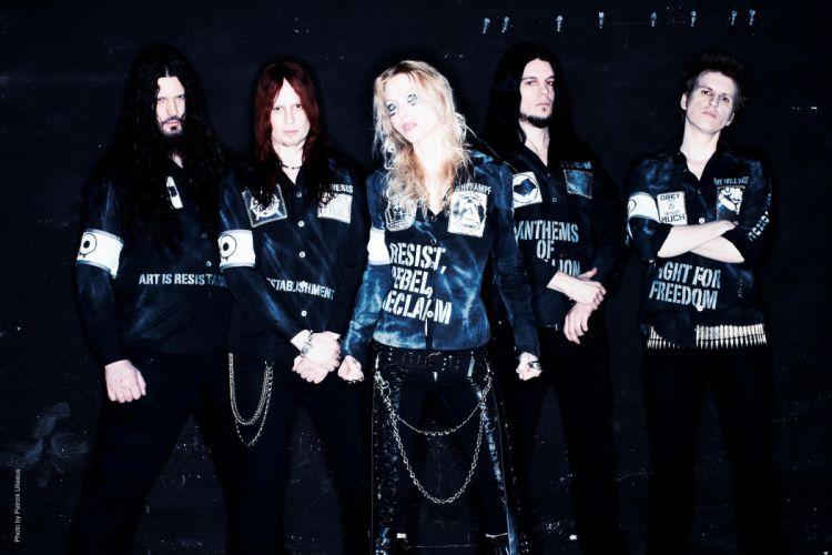 ARCH ENEMY death metal progressive heavy babe wallpaper