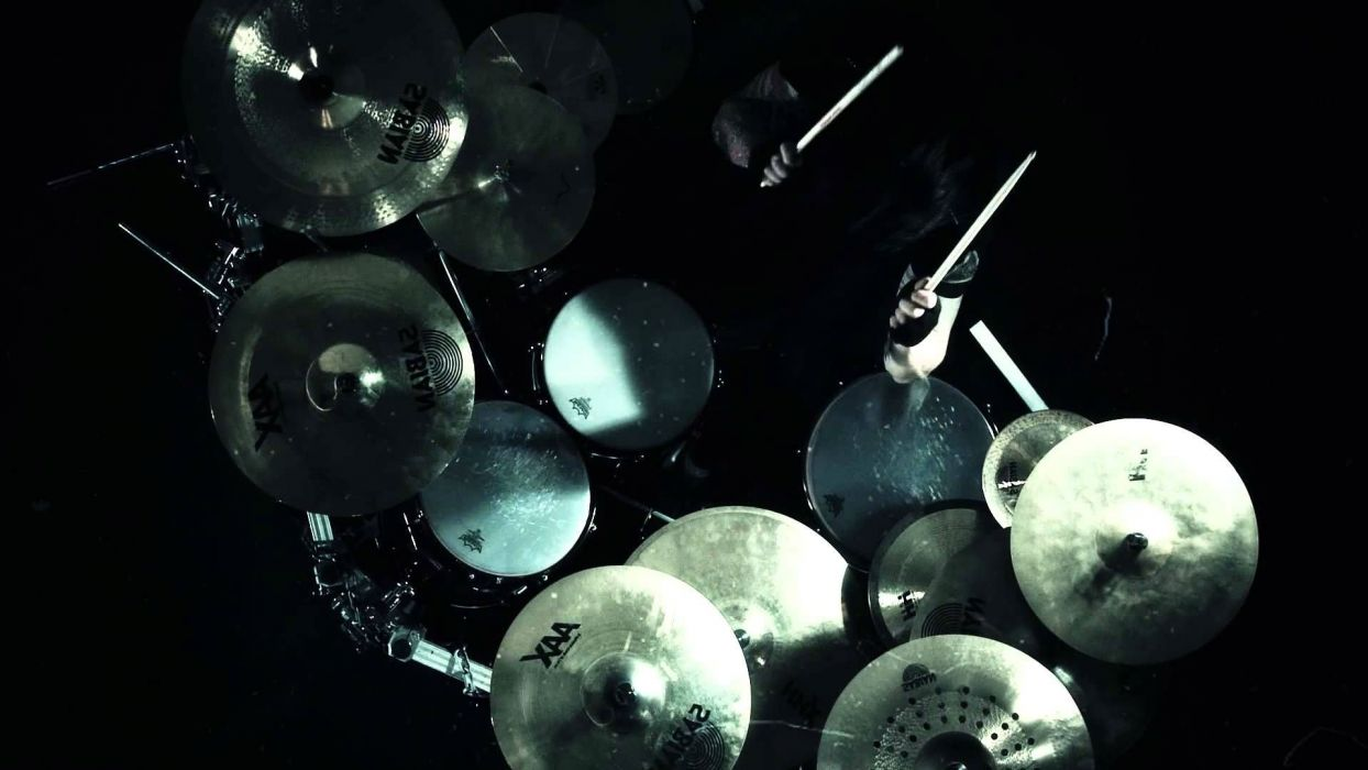 ARCH ENEMY death metal progressive heavy drums wallpaper