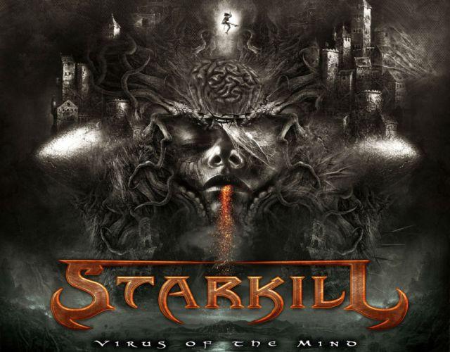 STARKILL melodic death metal symphonic heavy dark satanic occult wallpaper