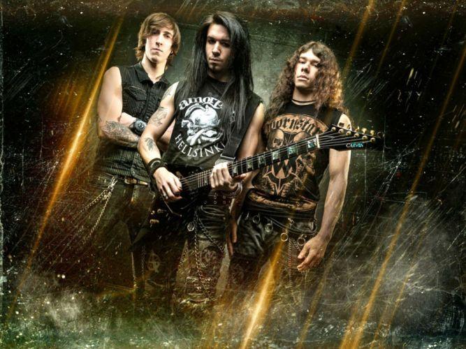 STARKILL melodic death metal symphonic heavy guitar wallpaper