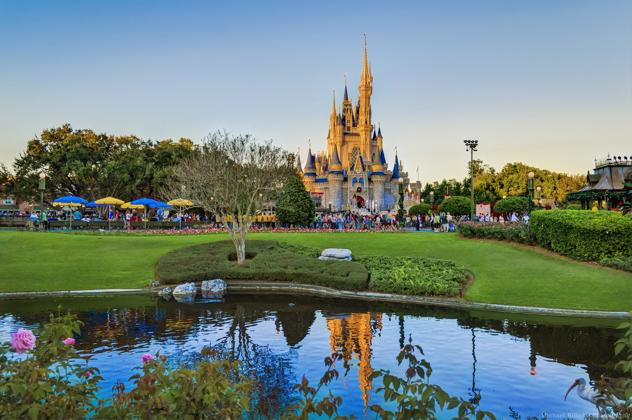 Walt disney world resort disney orlando floride florida usa universal studio castel hotel mickey night light stores entertainment parc childrens offices