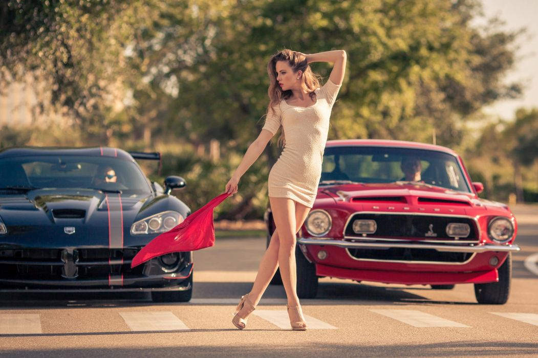 speed model car woman wallpaper
