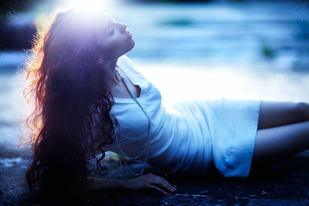 shine dress model woman wallpaper