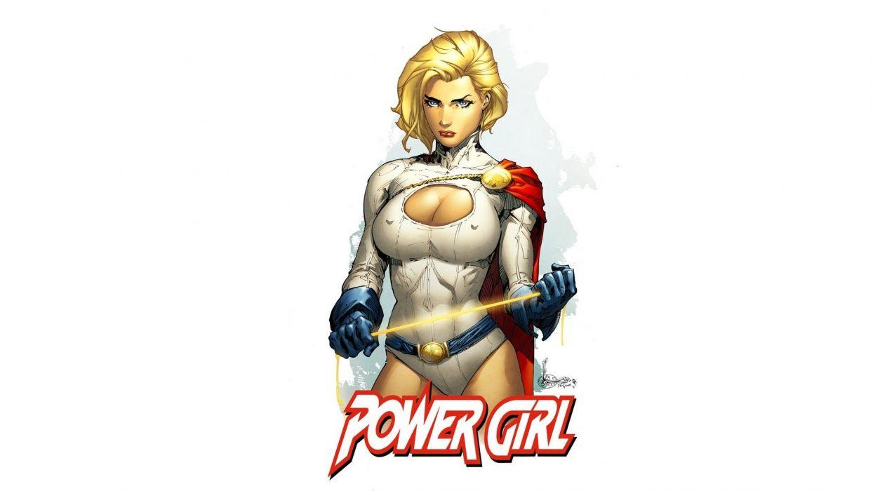 Power girl wallpaper