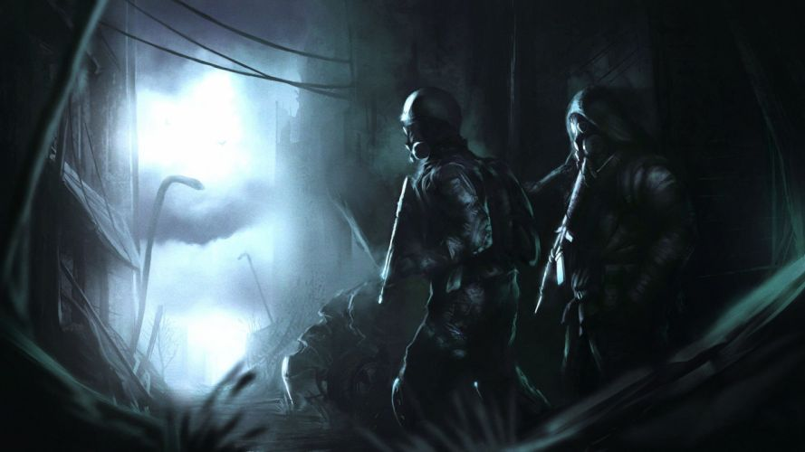 METRO survival horror shooter sci-fi apocalyptic dark 2033 last night redux wallpaper