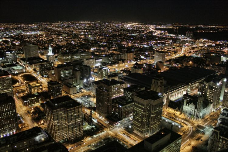 architecture bridges buildings cities City Downtown Philadelphia Pennsylvania Night offices storehouses stores texas towers USA Keystone-State wallpaper