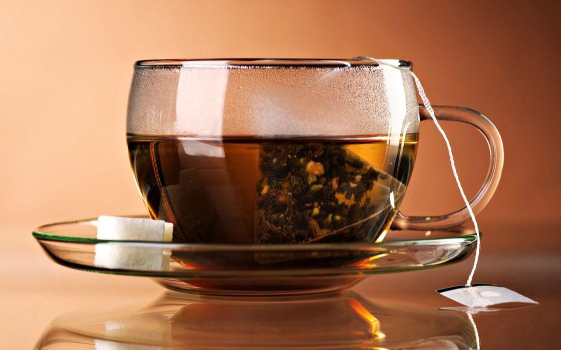 Drink tea wallpaper