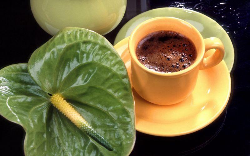 Drink coffee wallpaper