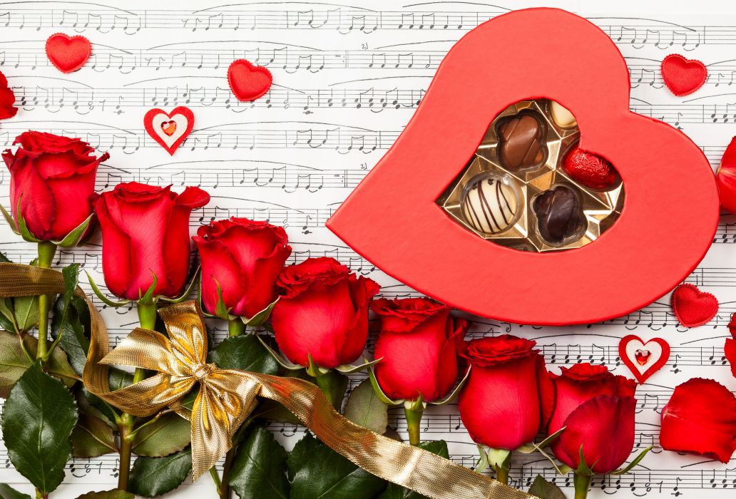for you roses heart nature red roses rose chocolate flowers with love valentines day wallpaper