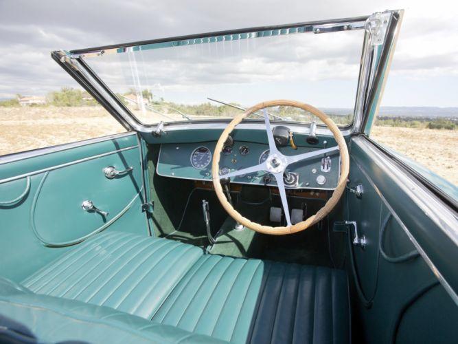 1938 Bugatti Type-57C Stelvio Cabriolet Gangloff retro wallpaper