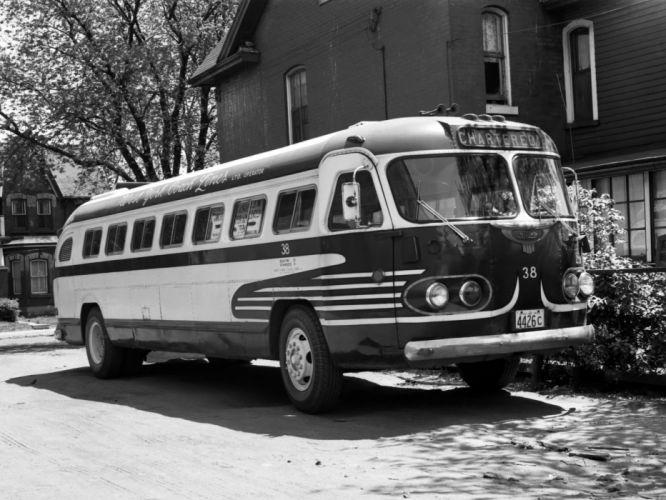 1944-50 Flxible Clipper transport bus semi tractor wallpaper