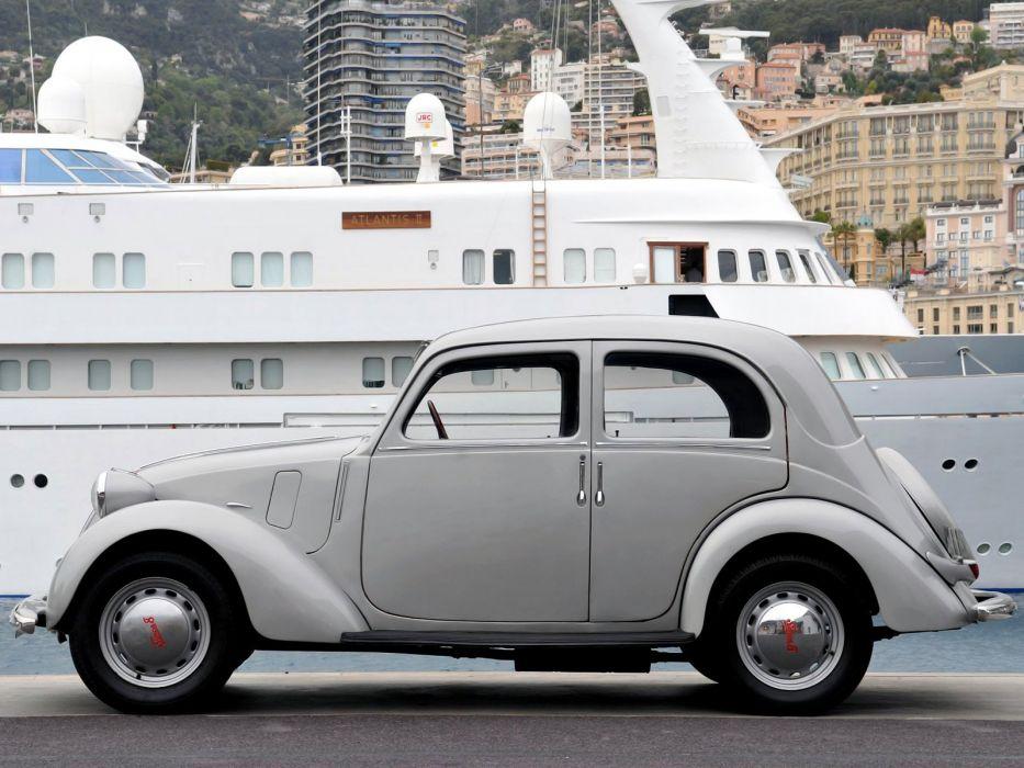 1938-51 Simca 8 Berline simca-8 retro wallpaper