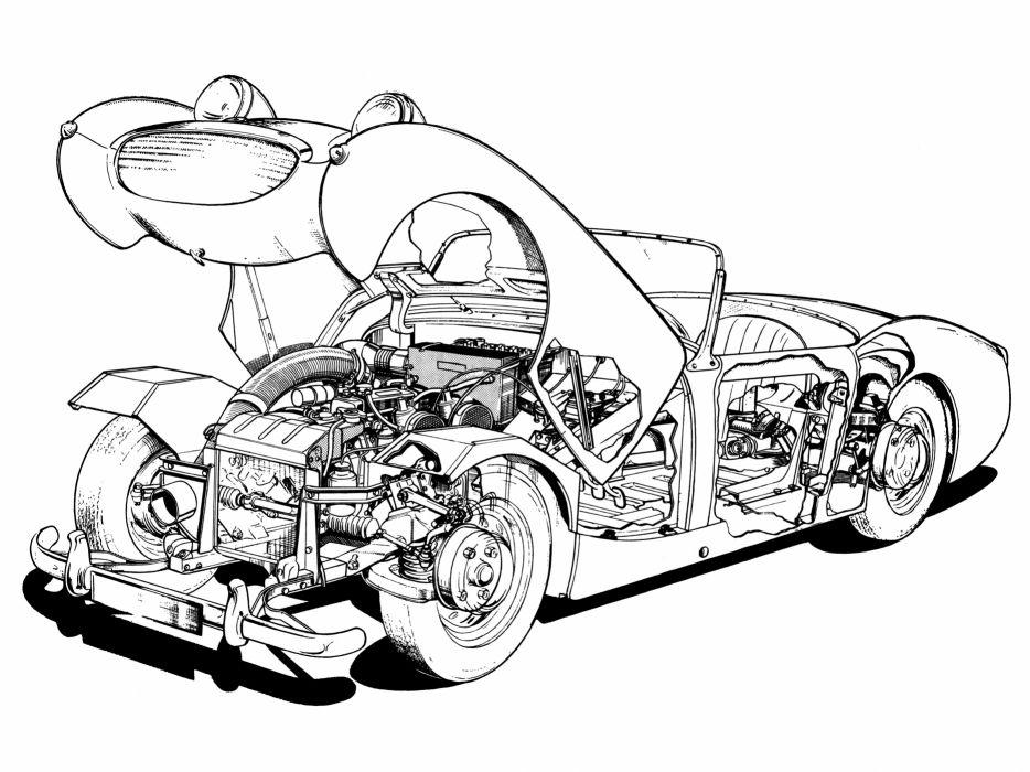 1958-61 Austin Healey Sprite (MkI) wallpaper