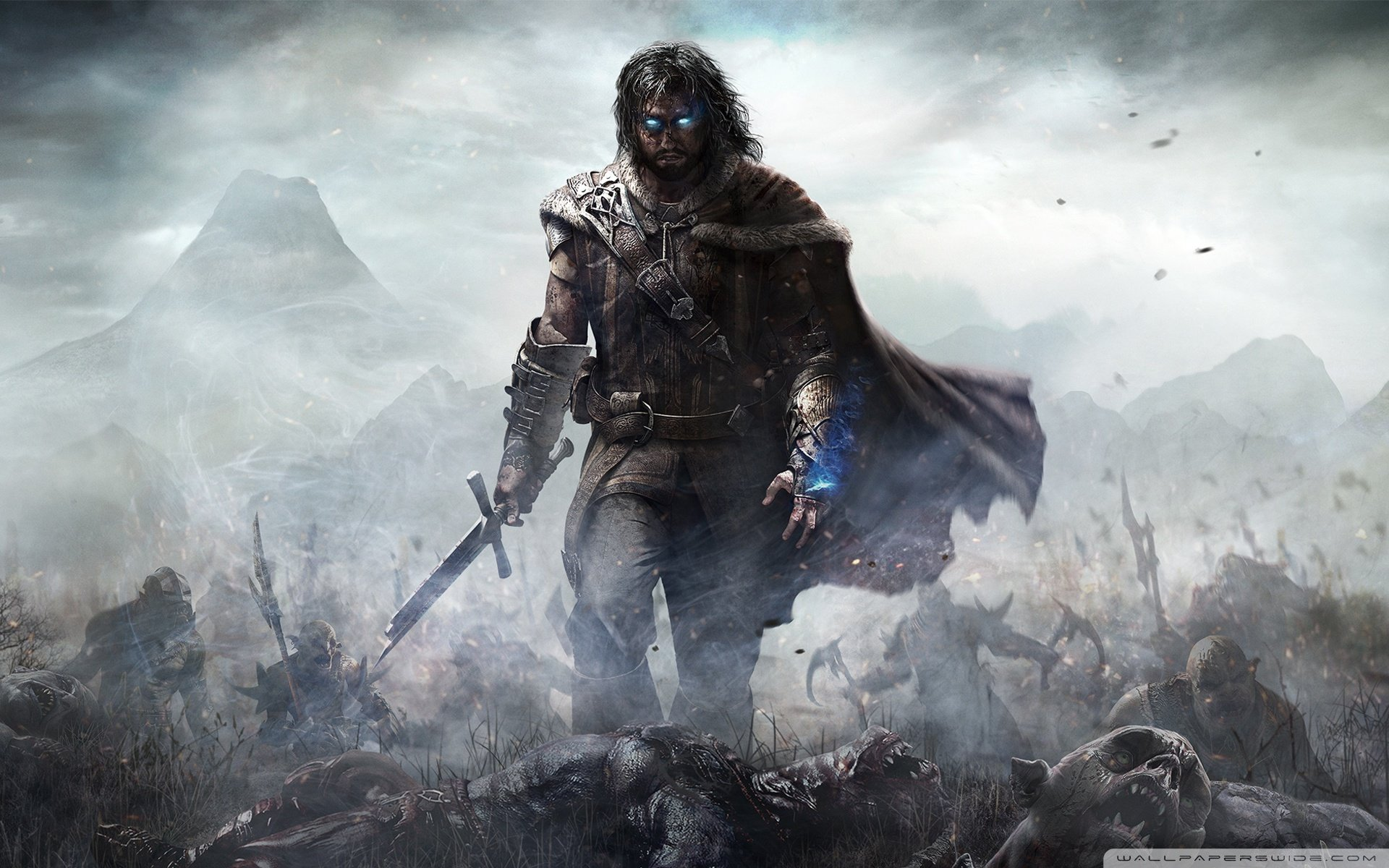 Shadow Of Mordor Wallpaper: Middle Earth Shadow Of Mordor-wallpaper-1920x1200