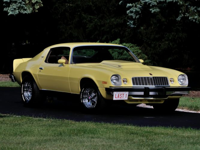 1974 Nickey Chevrolet Camaro L-T L88 Stage-III muscle classic wallpaper
