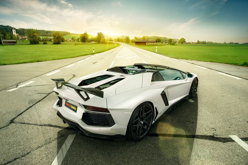 2014 Novitec Torado Lamborghini Aventador LP700-4 Roadster (LB834) supercar tuning wallpaper