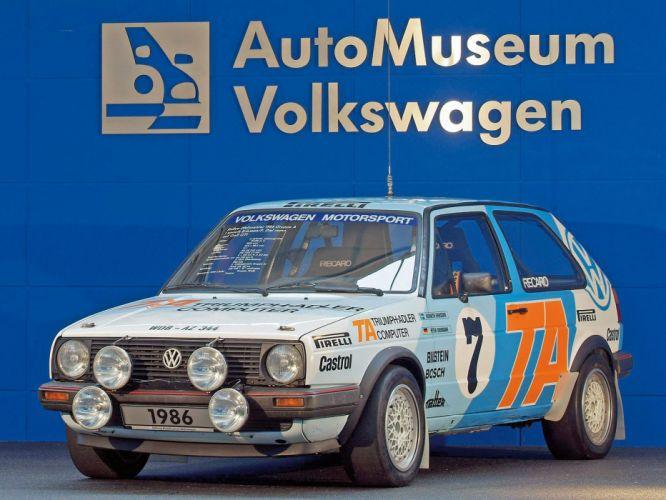 1984-86 Volkswagen Golf GTI Rally (Typ-19) race racing wrc wallpaper