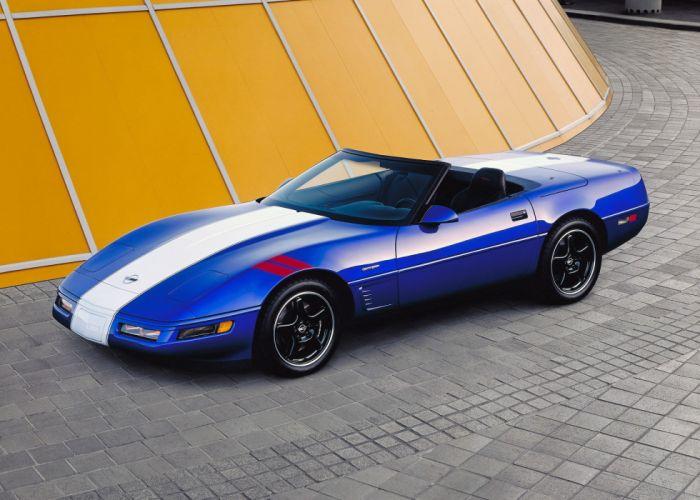 1996 Corvette Grand Sport Convertible (C-4) supercar muscle wallpaper