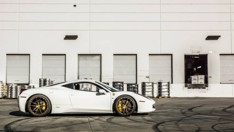 ferrari 458 italia cars tuning wallpaper