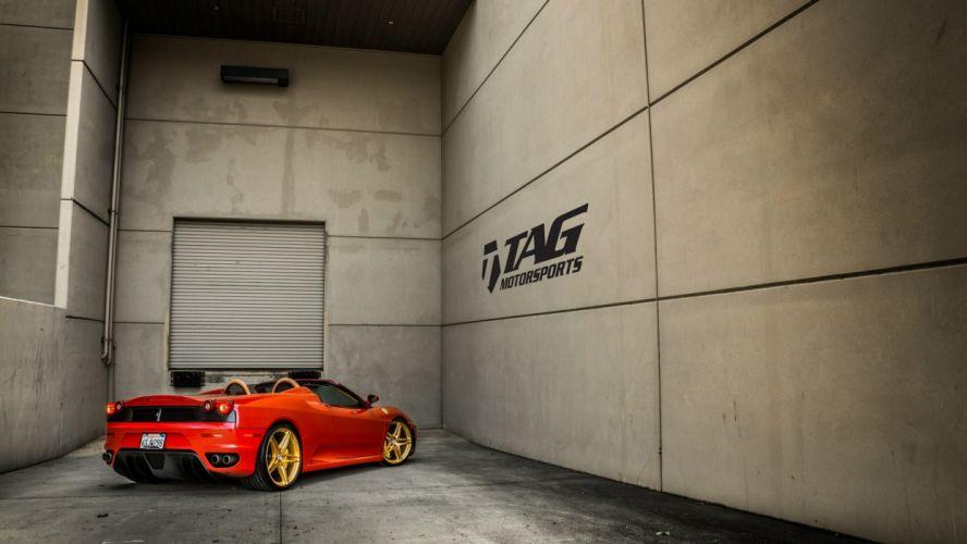 Ferarri F430 Spyder tuning cars wallpaper