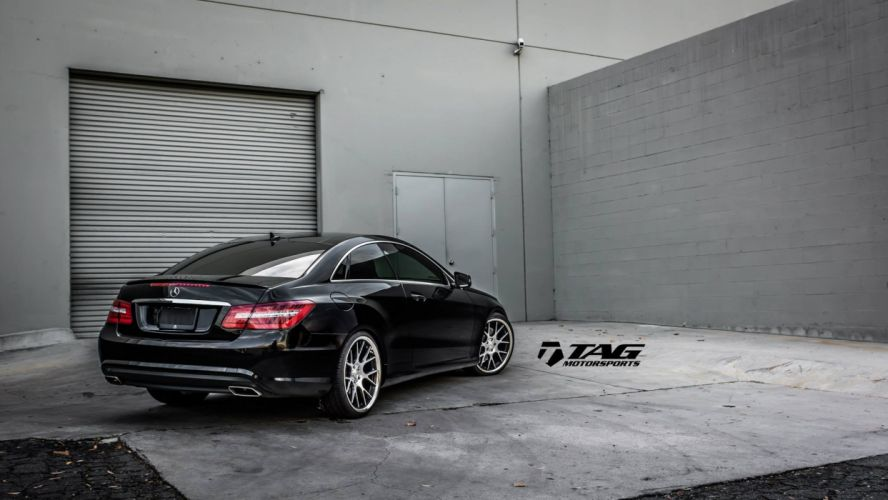 Mercedes E550 Coupe tuning cars wallpaper