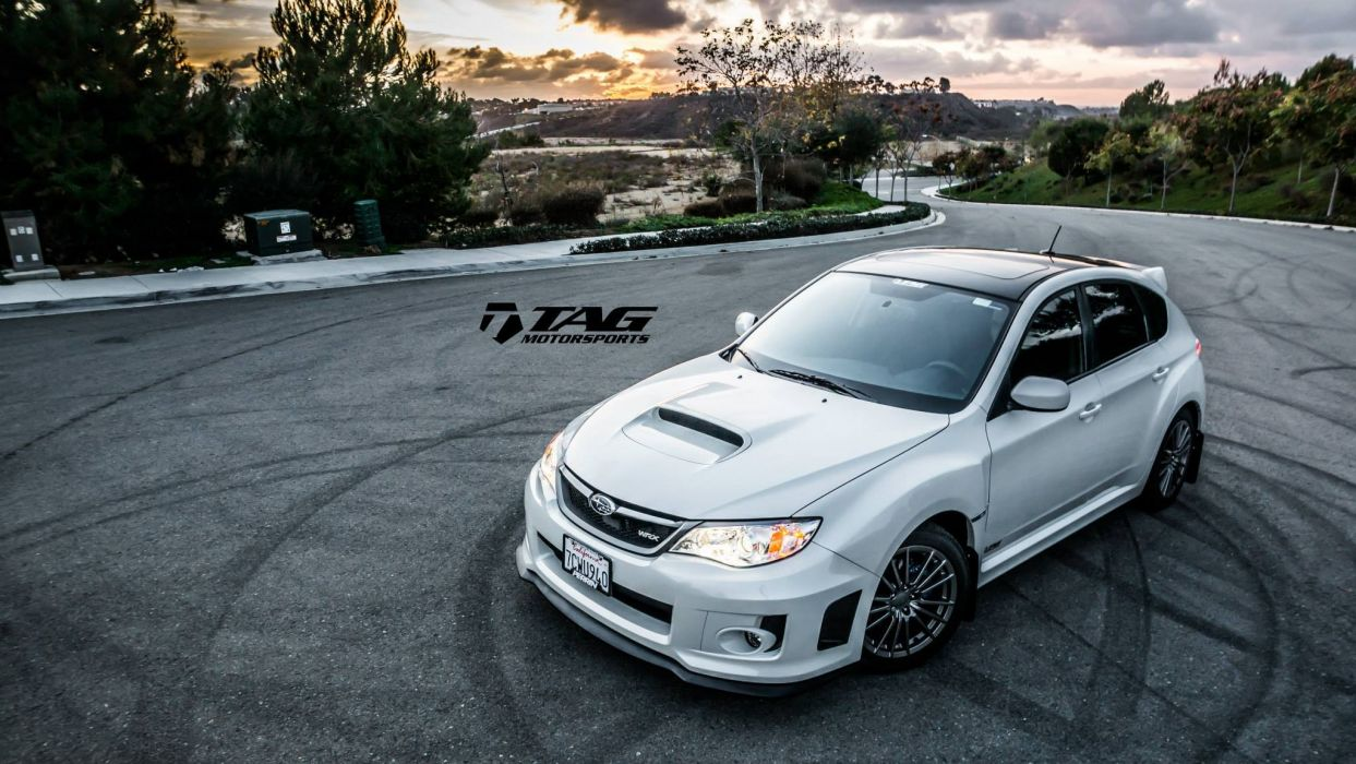 Subaru WRX tuning cars wallpaper
