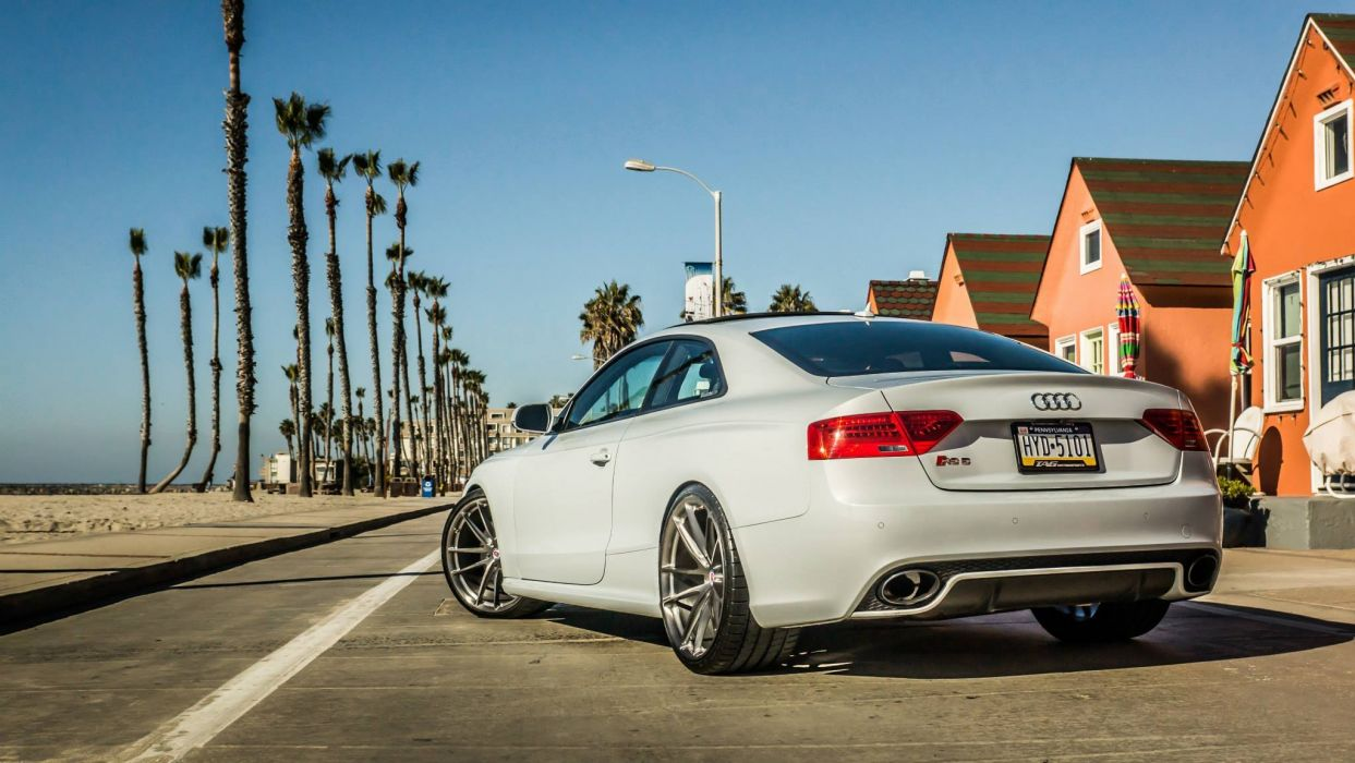 Suzuka Grey Audi RS5 tuning cars wallpaper