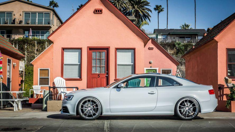 Suzuka Grey Audi RS5 tuning cars wallpaper